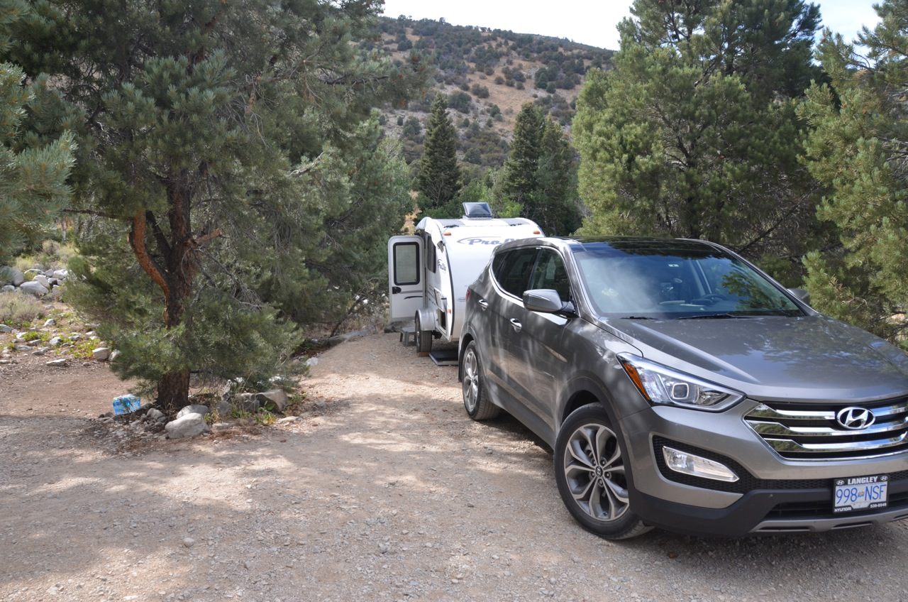 First Overnight in Great Basin National Park, Baker, Nevada.