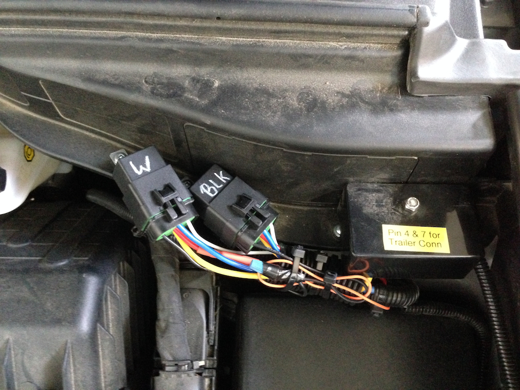 My Hyundai Santa Fe Tow Vehicle Smallrvs Electrical Wiring I Also Added A 12 Volt Outlet That Is Easily Accessible From The Rear Cargo Area Where Portable Engel Fridge Will Be Located In Addition To